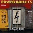 Thomastik-Infeld PB108 Electric Guitar Strings: Power-Brights 6 String