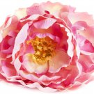 "SARO LIFESTYLE Peony Napkin Rings (4 Pack), Pink, 3""x5"" Pink"