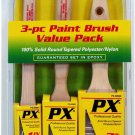 PXpro 3PC Nylon/Polyester Brush Set 2