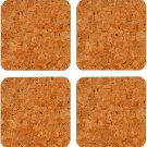Thirstystone N497 Cork Coasters, Copper Flake (Set of 4), Multicolor