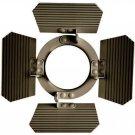 WAC Lighting 801BD-DB Barn Door for Track Fixtures, Dark Bronze Dark Bronze
