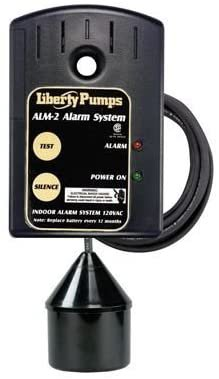 Liberty Pumps ALM-2 High Water Float Alarm with 20' Float Cord, N/A