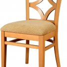 Beechwood Mountain BSD-23S-N Solid Beech Wood Side Chairs in Natural Natural