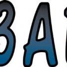 Hardline Products BMBKG200 Metallic Blue/Black Number Blue Metallic Blue/Black