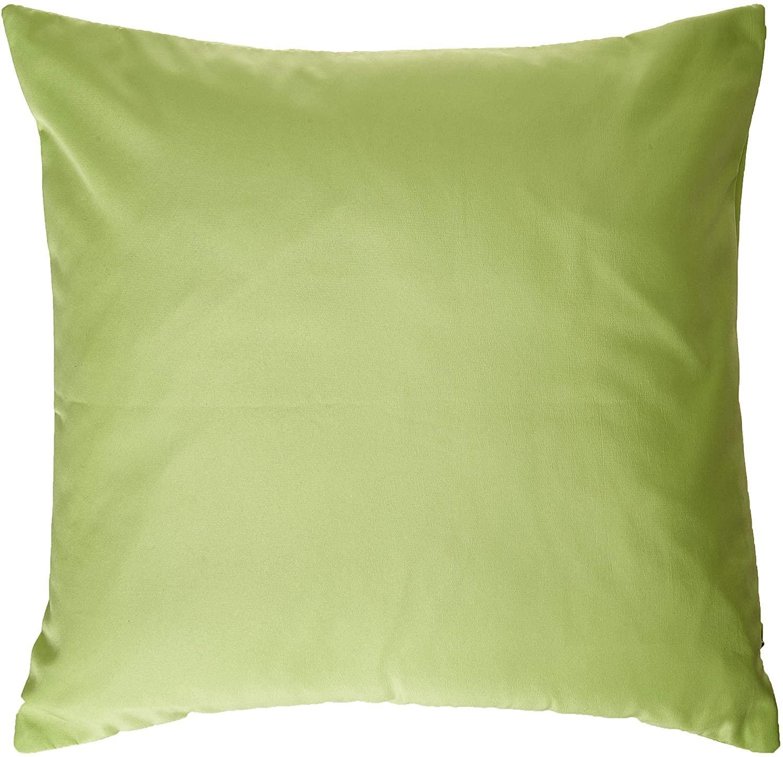 Deconovo Super Soft Home Decorative Pillowcase Cushion Set of 4 Peak Green