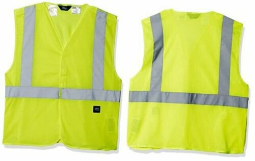 Key Apparel Men's Ansi Ii Class 2 Hi-Visibility Break-a-Way Large Hi/Vis Yellow