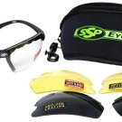 SSP Eyewear Shatterproof Safety Glasses Kit with Assorted Color Anti-Fog