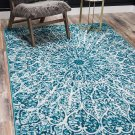 Unique Loom Sofia Traditional Area Rug, 8' 0 x 11' 0, 8' 0 x 11' 0 Turquoise
