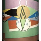 "Lamp-In-A-Box TRI-DEC-JAZZB Décor Art Jazz Age Design B Tripod Lamp, 8"" x 8"" x"