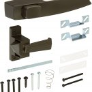 Wright Products V333FB TIE-DOWN PUSH BUTTON Handle, FLORIDA. BRONZE Brown
