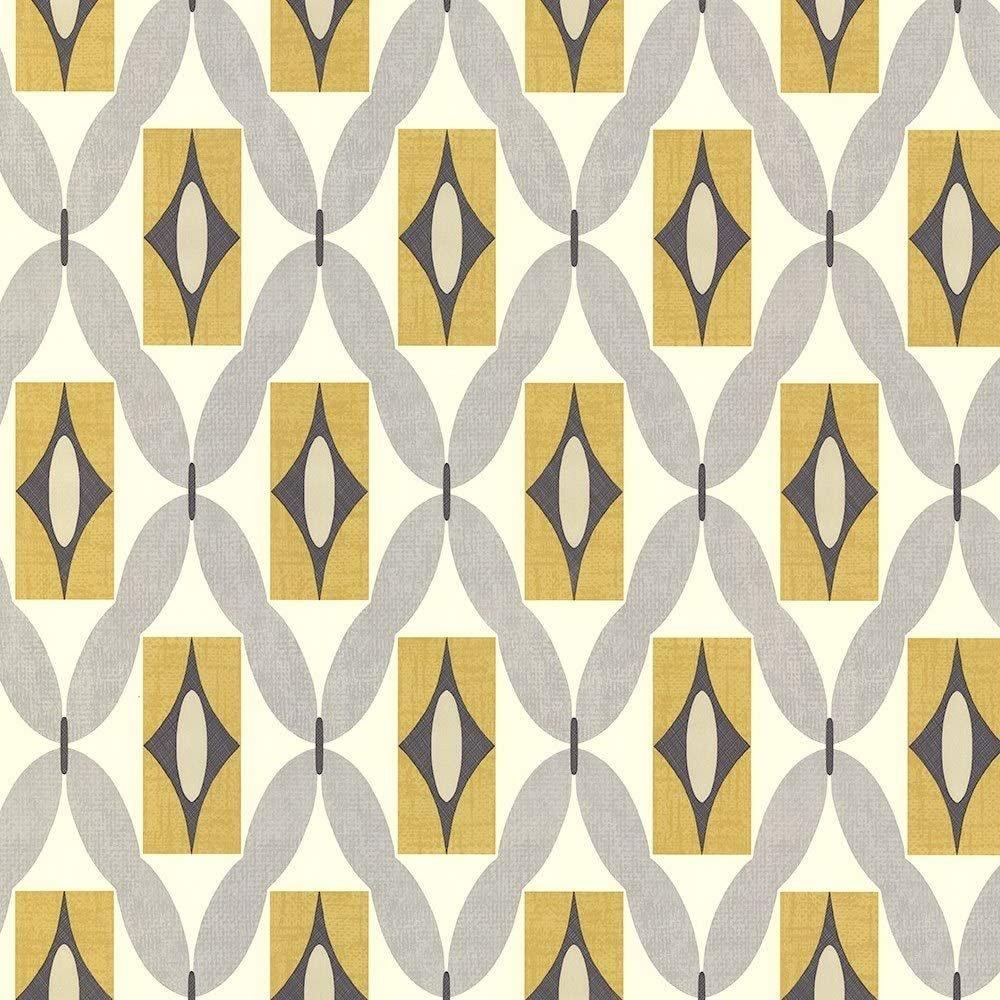 Arthouse Quartz Wallpaper, Yellow