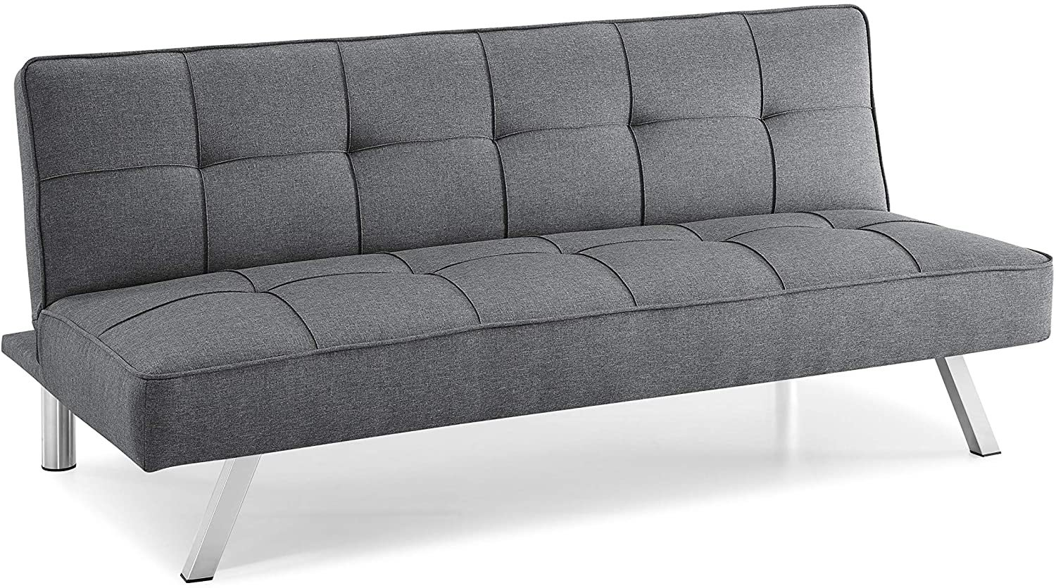 Pearington Multifunctional Convertible Sofa, Couch, Lounger, Bed-Durable Grey