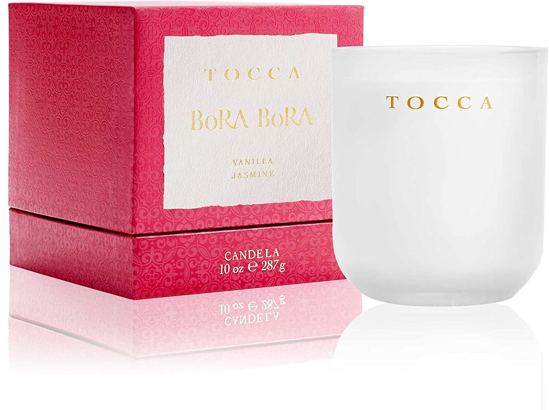 Tocca Bora Bora Vanilla & Jasmine Candle 10 oz 10 oz Vanilla & Jasmine