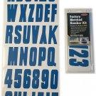 Hardline Products BLU350EC Solid Blue Number Factory Matched Solid Blue