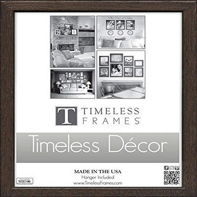 "Timeless Frames Americana Wooden Frame Espresso, 8"" x 10"" 8"" x 10"""