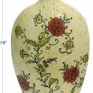 Deco 79 Ceramic Vase, 10 by 19-Inch