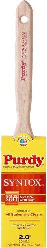 Purdy 144402620 Syntox Series Flat Trim Paint Brush, 2 inch
