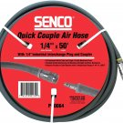 Senco PC0064 Hose 1/4-inch by 50 foot with 1/4 Couple Plug