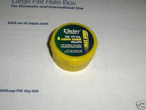 Daisy 177 cal lead free pellets max speed  500