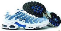 Men's Nike Air Max TN Plus- Blue & White