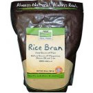 RICE BRAN  20 OZ By Now Foods