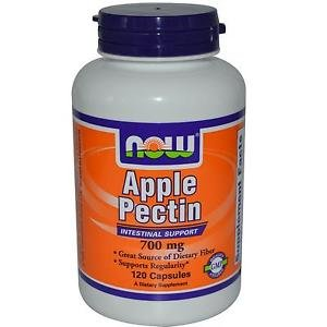 APPLE PECTIN 700mg  120 CAPS By Now Foods