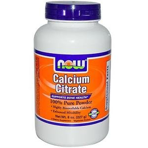 CALCIUM CITRATE POWDER  8 OZ By Now Foods
