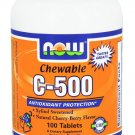 C-500 CHEW CHERRY  100 TABS By Now Foods