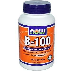 B-100 CAPS  100 CAPS By Now Foods