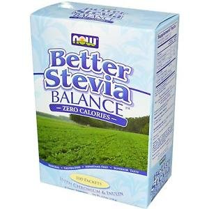 BETTER STEVIA BALANCE PACKETS 100/BOX By Now Foods