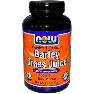 BARLEY GRASS JUICE POWDER ORG 4 OZ By Now Foods
