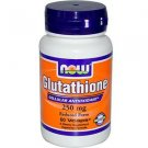 L-GLUTATHIONE 250mg 60 VCAPS By Now Foods