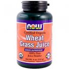 WHEAT GRASS JUICE POWDER ORG 4 OZ By Now Foods