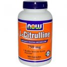 CITRULLINE  750MG   180 VCAPS By Now Foods