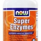SUPER ENZYMES  90 TABS By Now Foods