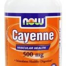 CAYENNE 500mg  100 CAPS By Now Foods