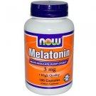 MELATONIN 3mg  180 CAPS By Now Foods