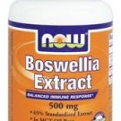 BOSWELLIA EXTRACT 500MG  90 SGELS By Now Foods