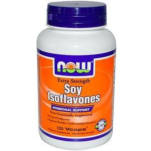 SOY ISOFLAVONES 150mg  120 VCAPS By Now Foods