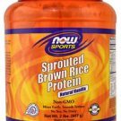 VANILLA SPROUT RICE PROTEIN 2 LB By Now Foods