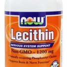 LECITHIN 1200mg  200 SGELS By Now Foods