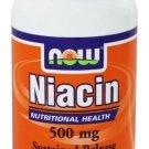 NIACIN 500mg TR  100 TABS By Now Foods
