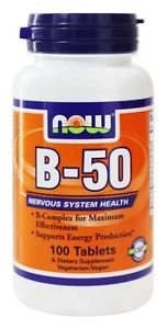 B-50  100 TABS By Now Foods