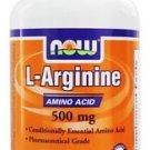 ARGININE 500mg 100 CAPS By Now Foods