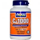 C-1000 RH SR  100 TABS By Now Foods