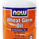 WHEAT GERM OIL 1130MG 100 SGELS By Now Foods