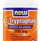L-TRYPTOPHAN 500MG 60 VCAPS By Now Foods