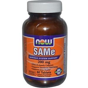 SAM-E 200MG 60 TABS By Now Foods