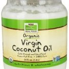 ORGANIC COCONUT OIL VIRGIN 54 OZ By Now Foods