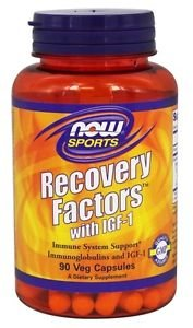 RECOVERY FACTORS WITH IGF-1  90 VCAPS By Now Foods